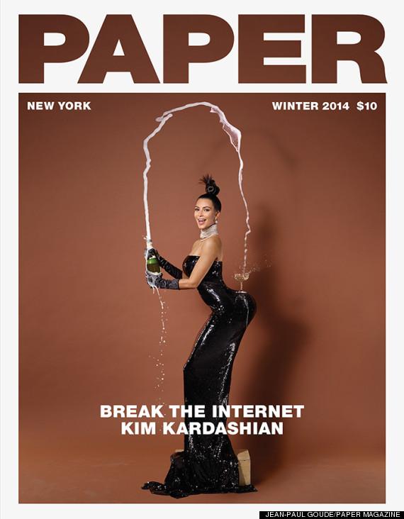 Kim Kardashian - Paper Magazine Cover