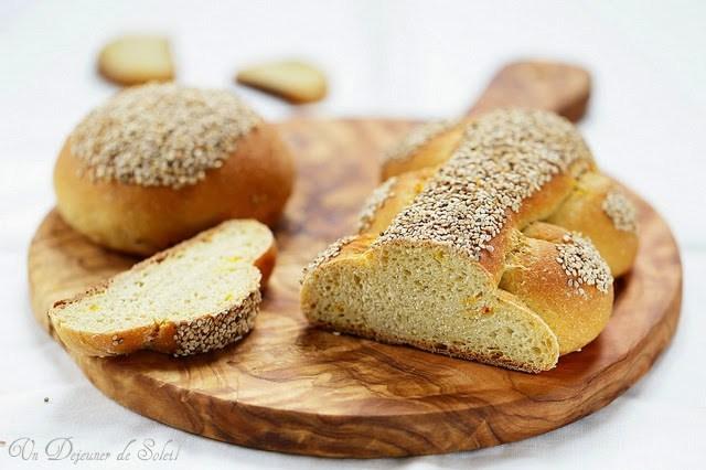 Pane siciliano al grano duro e sesamo