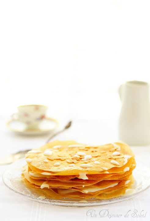 Pastilla au lait et à la fleur d'oranger