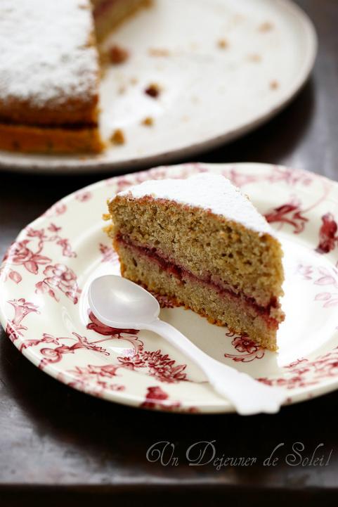 Gâteau italien au sarrasin et confiture (sans gluten) - Torta du grano saraceno