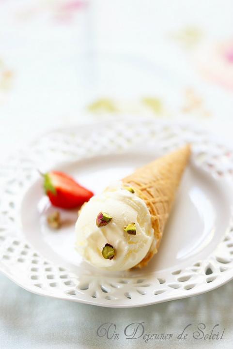 Yaourt glacé (ou glace au yaourt) recette simple et délicieuse - Frozen yogurt