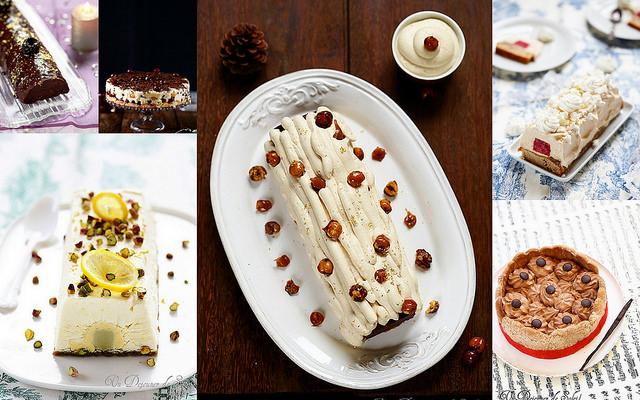 Idées recettes bûches et gâteaux de fêtes