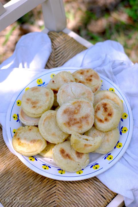 Pains marocains cuits à la poêle (Batbout ou Mkamer)