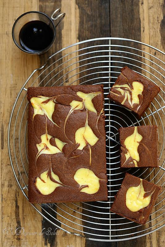 Brownie cheesecake, la recette