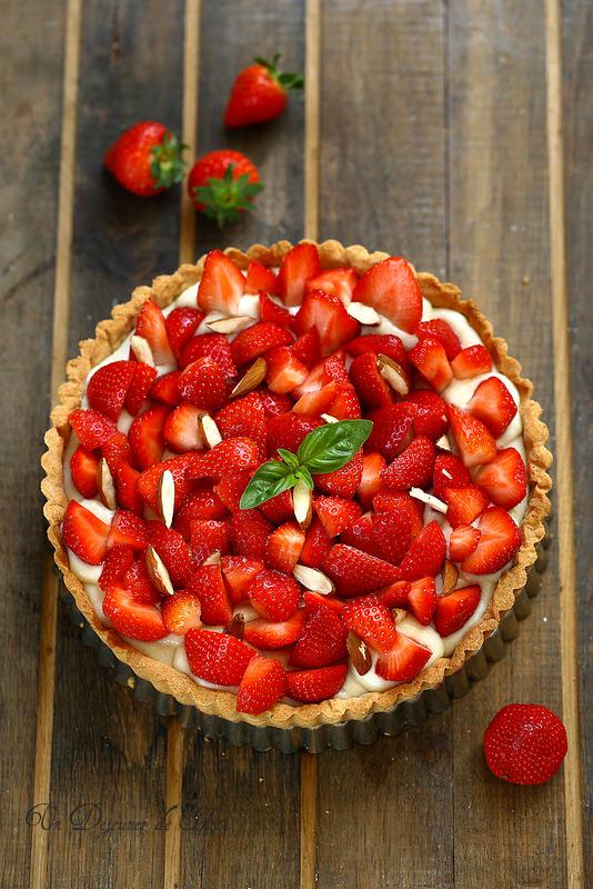 Tarte aux fraises plus de dix recettes faciles, classiques ou creatives