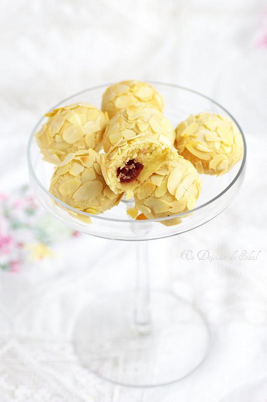 Recettes de Sicile. Biscuits aux amandes