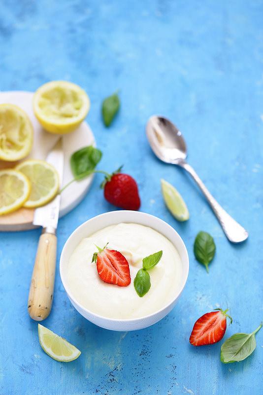 Mousse au citron minute (sans oeufs)