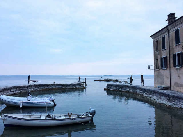 Port lac de Garde