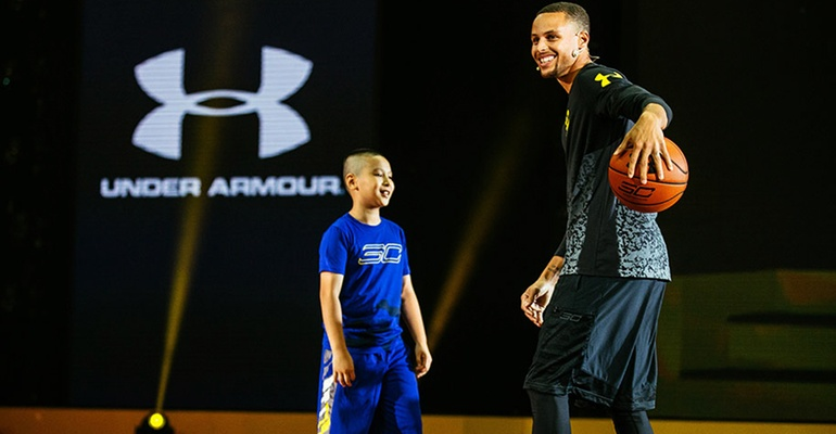 Stephen Curry Under armour, Chaussures, equipement, basket