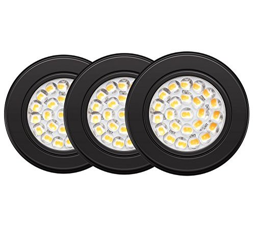 Getinlight Dimmable Led Puck Lights Kit With Etl Listed