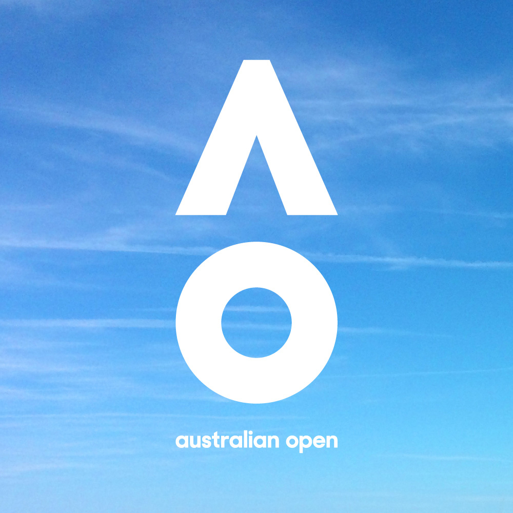 New Logo and Identity for Australian Open by Landor Australia