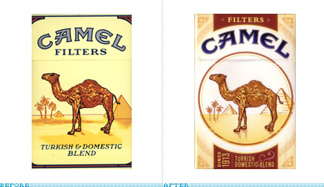 Camel Pack, Before and After
