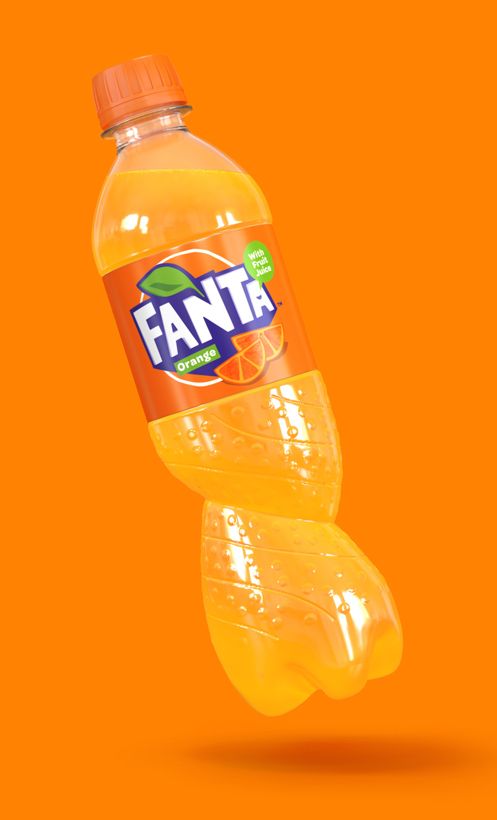 Follow-up: New Logo and Packaging for Fanta by Koto