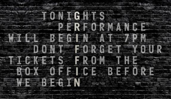 Griffin Theatre Company - Signage