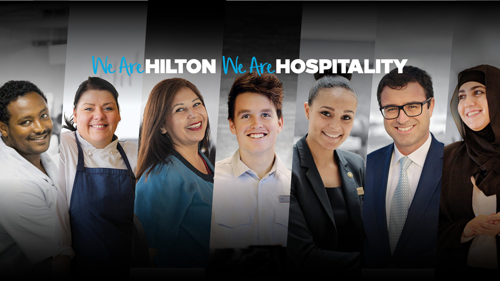 New Logos and Identity for Hilton and Hilton Honors