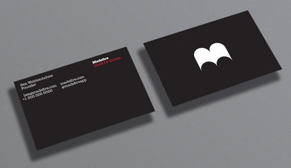Madefire Logo, Identity, and UI