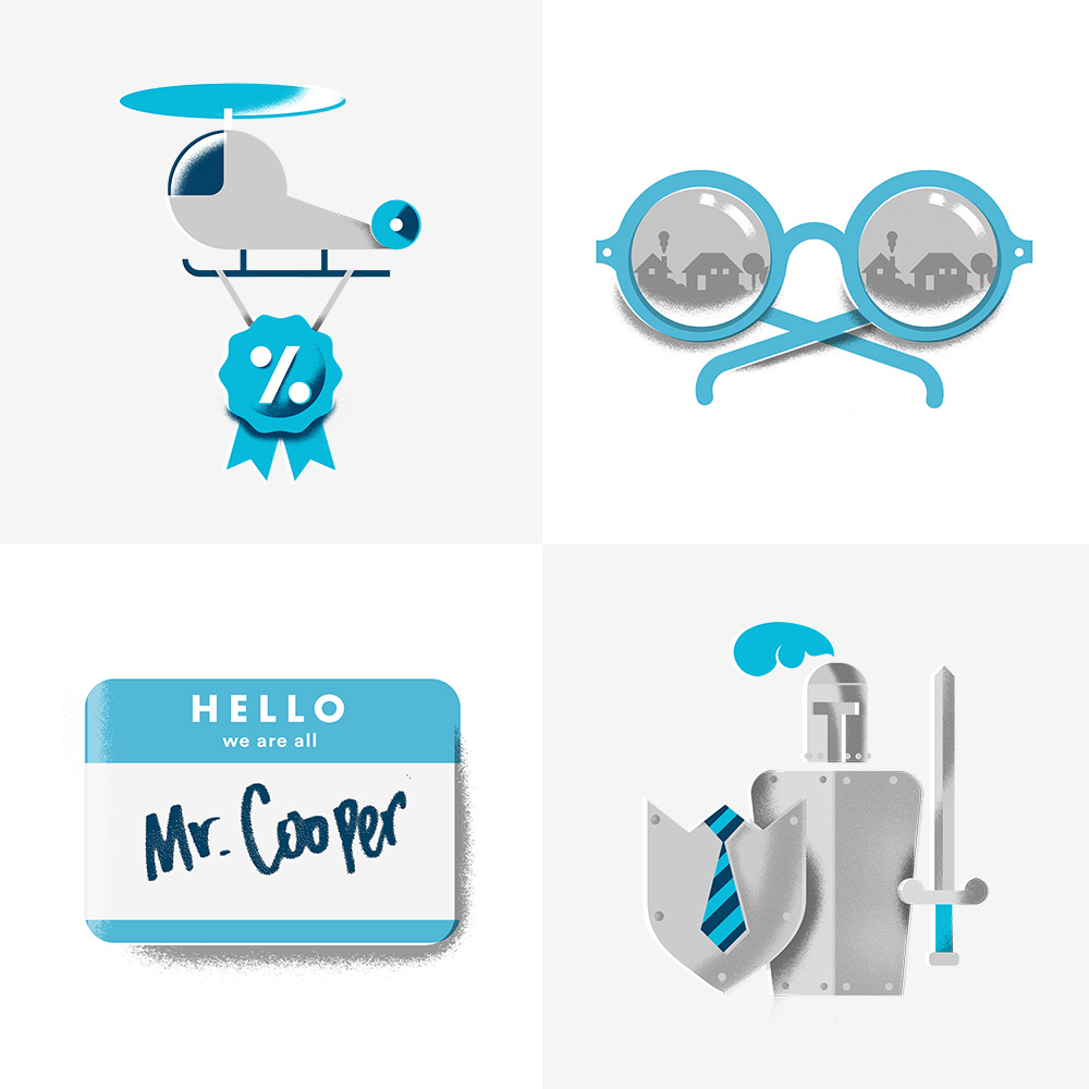 Follow-up: New Name, Logo, and Identity for Mr. Cooper by phenomenom