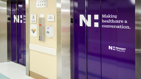 Novant Health Logo and Identity
