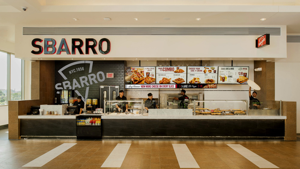 Brand New New Logo And Retail Look For Sbarro By Sterling