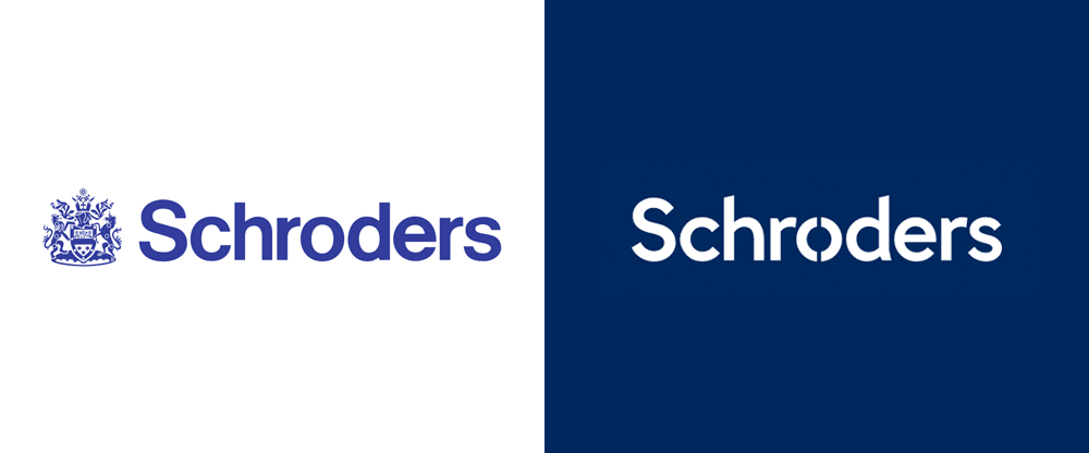 New Logo for Schroders