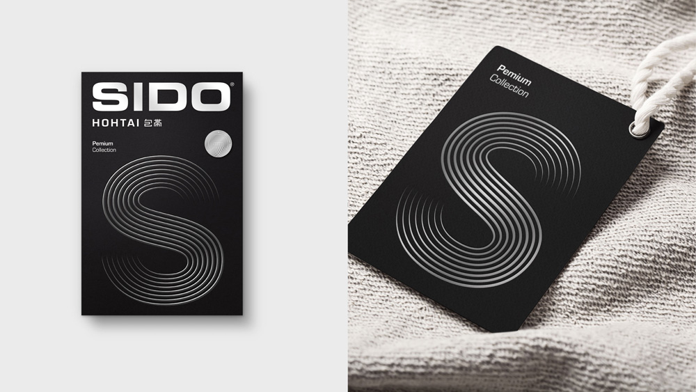 New Logo, Identity, and Packaging for Sido by Erretres
