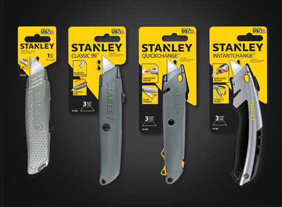 Stanley Logo and Packaging