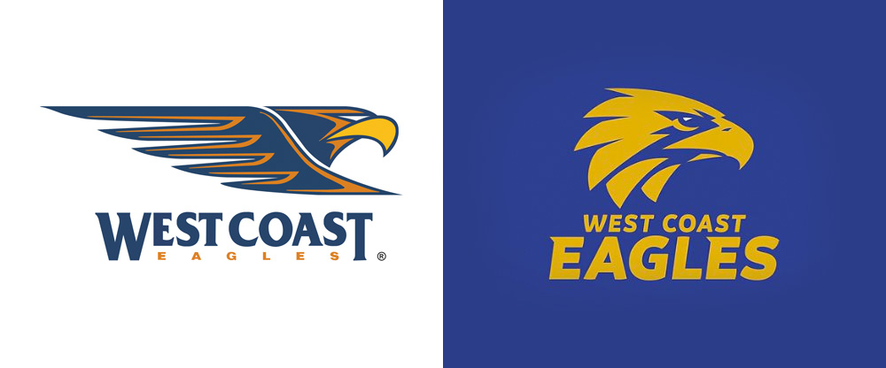 New Logo for West Coast Eagles
