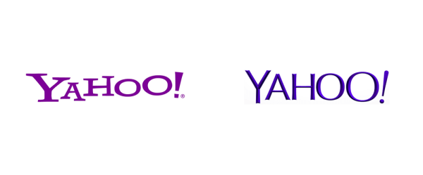 Brand New: New Logo for Yahoo Designed In-House