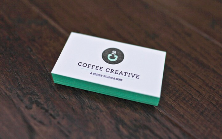 FPO  Coffee Creative Business Cards Coffee Creative Business Cards