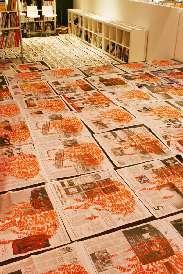 Pylon 2009 Holiday Mailer