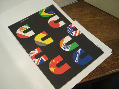 Paul Rand at the RIT Graphic Design Archives