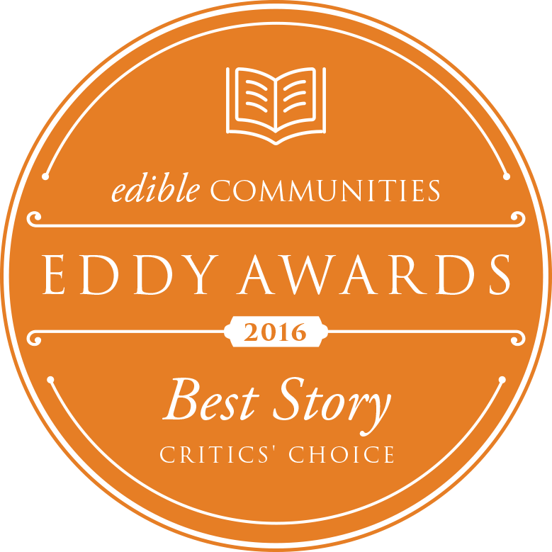We Won a Double Eddy!