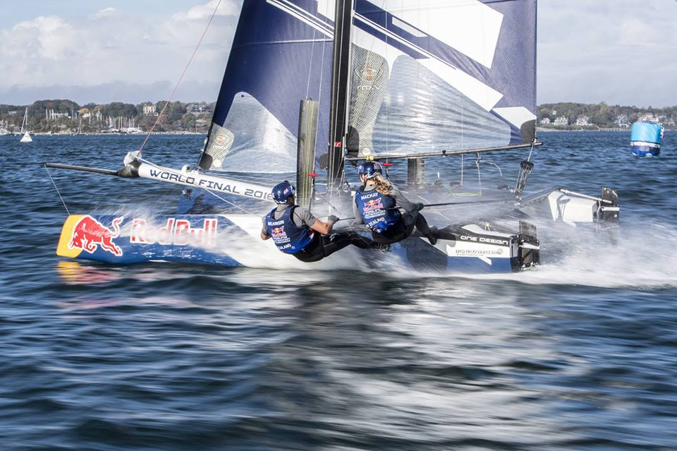 Flying on Water with the Red Bull Foiling Generation World Finals