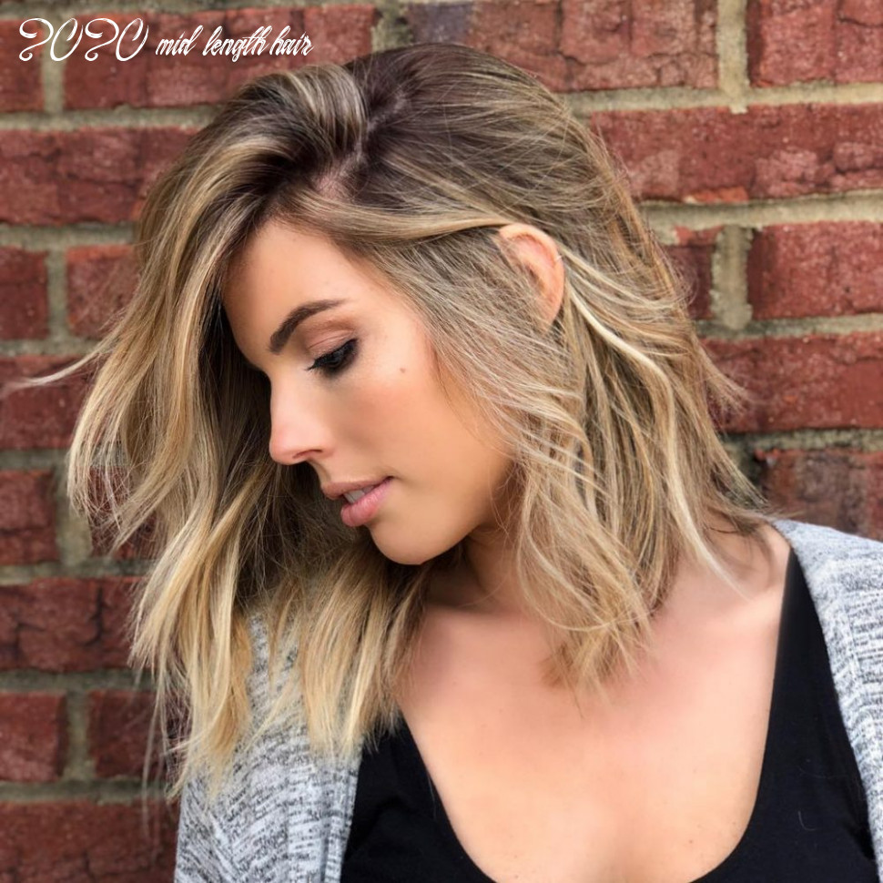 10 medium hairstyles for oval faces in 10 2020 mid length hair