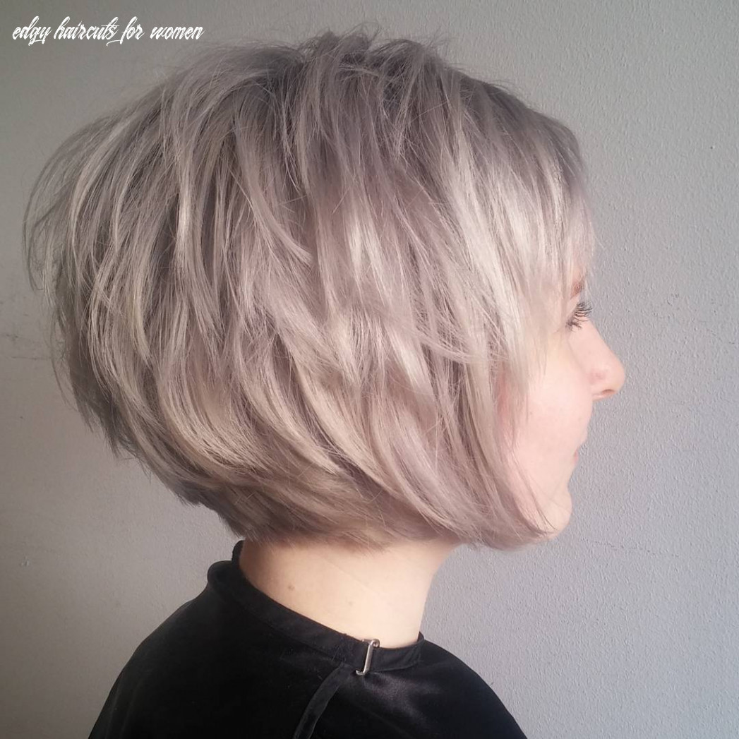 10 short edgy haircuts for women try a shocking new cut & color