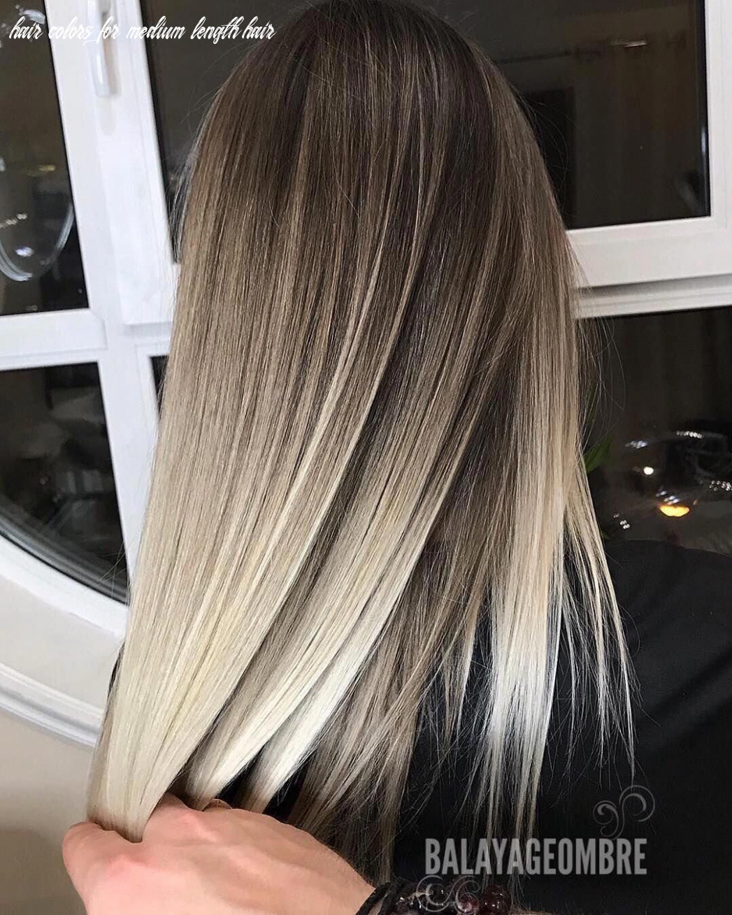 11 ombre balayage hairstyles for medium length hair, hair color