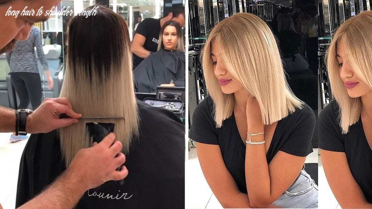 11 super cute medium haircuts shoulder length haircuts to show your compilation long hair to shoulder length
