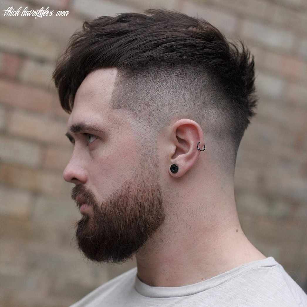 12 cool haircuts for men with thick hair (short medium) thick hairstyles men