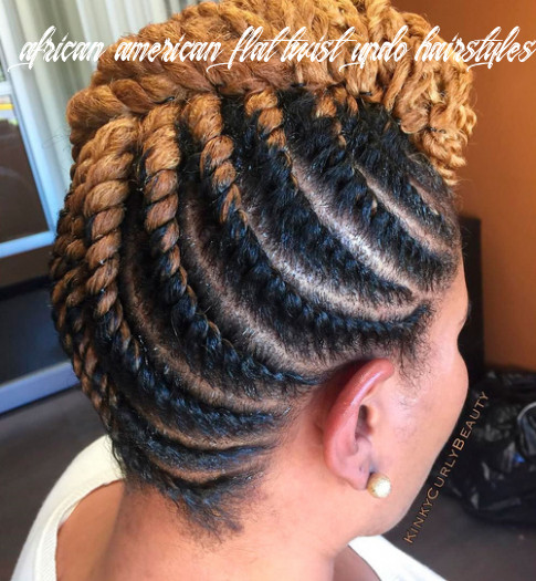 12 hottest flat twist hairstyles for this year african american flat twist updo hairstyles