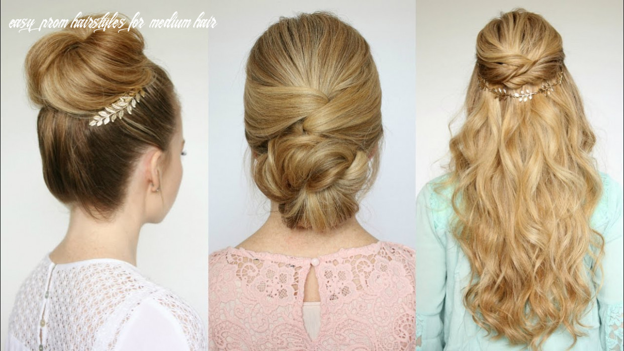 8 easy prom hairstyles   missy sue easy prom hairstyles for medium hair