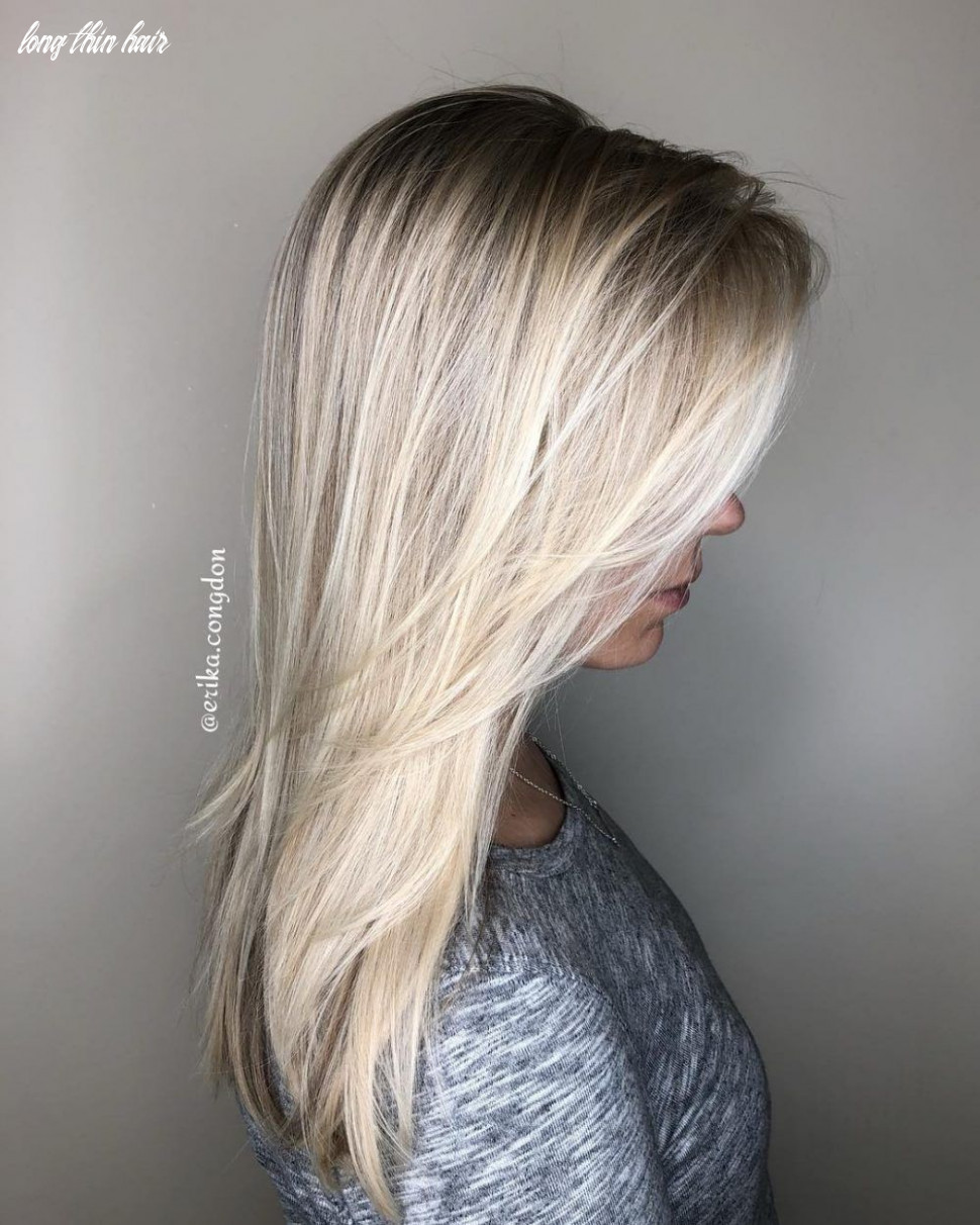 8 perfect hairstyles for long thin hair volume adding haircuts
