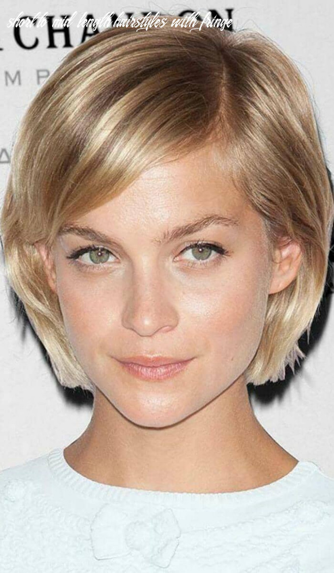8 ways to wear short hair with bangs for a fresh new look short to mid length hairstyles with fringe