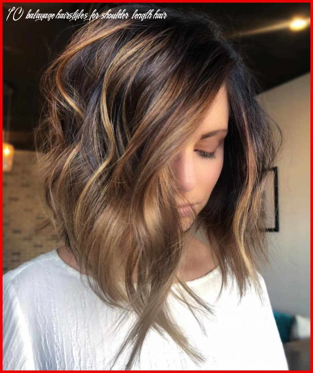 9 trendy ombre and balayage hairstyles for shoulder length hair