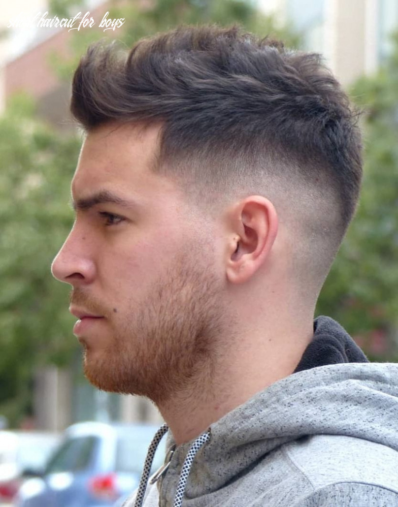 9 unique short hairstyles for men styling tips short haircut for boys