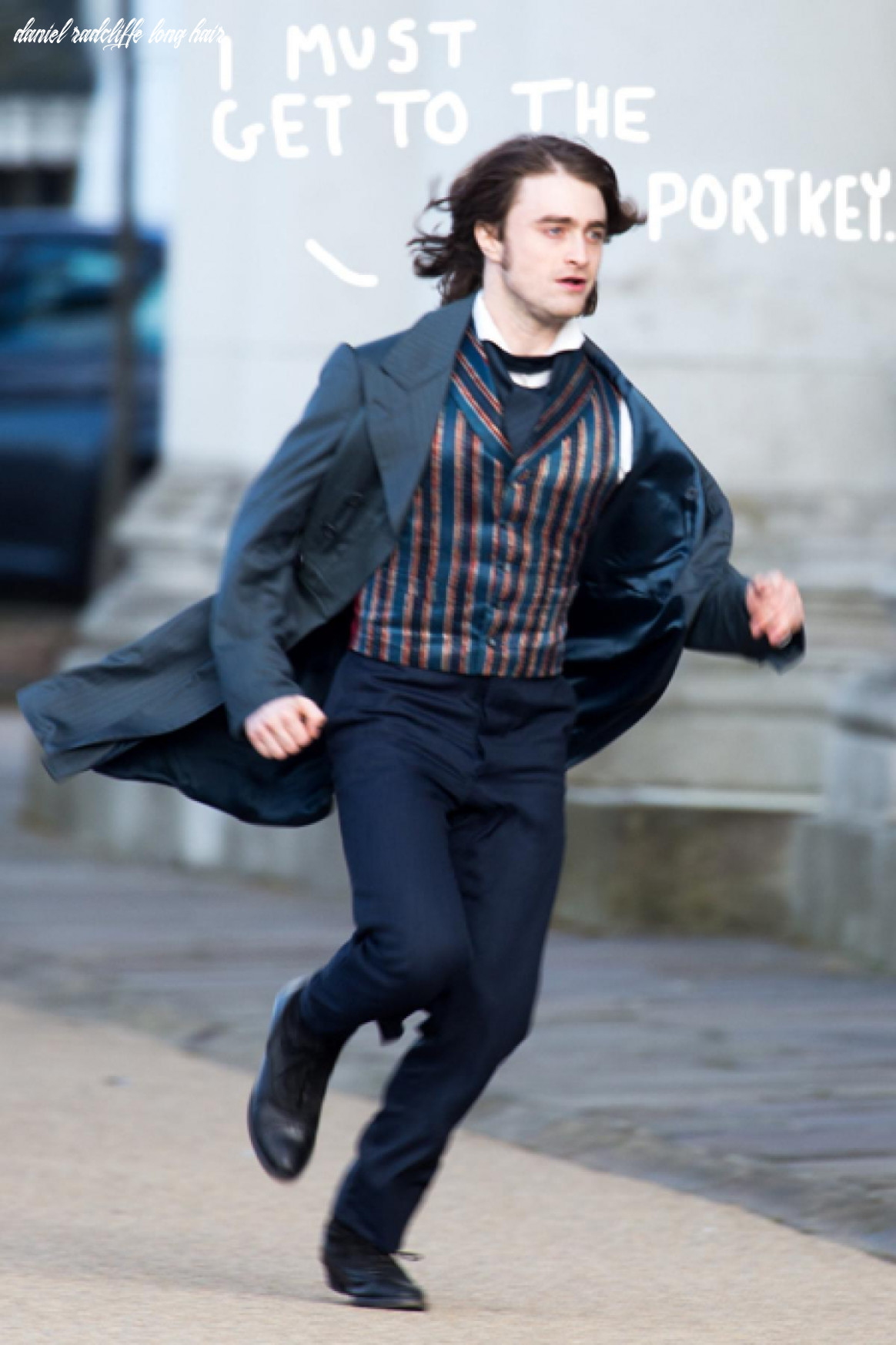 Actually, daniel radcliffe does look pretty sexy with long hair