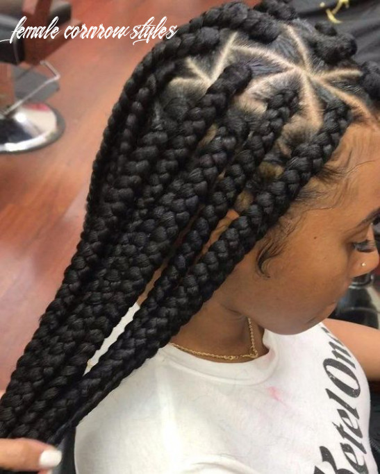 Female cornrow styles: beautiful pictures of an amazing cornrow