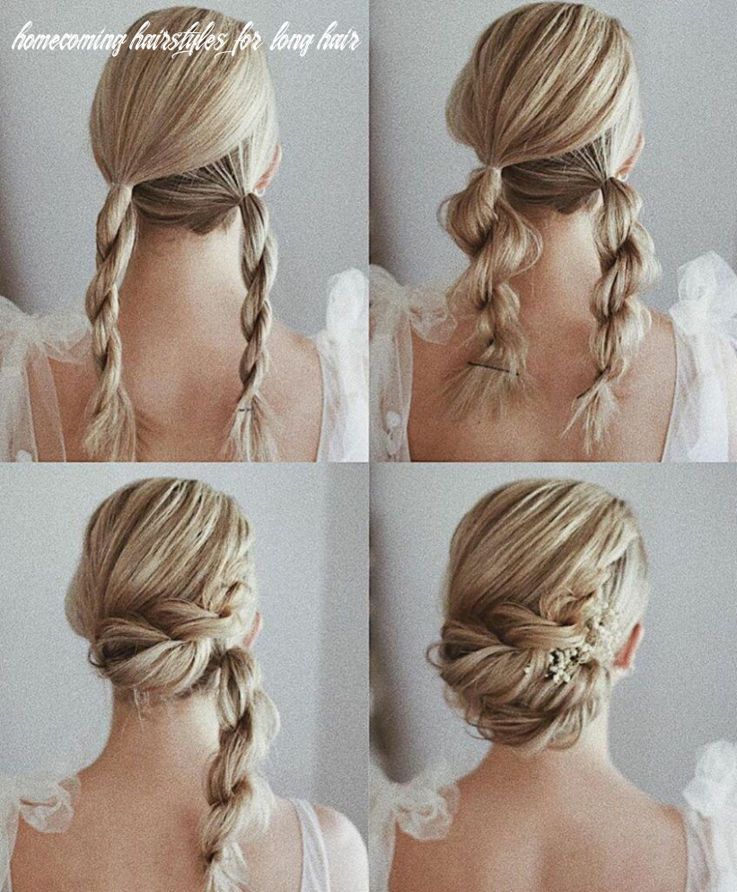 Gorgeous and easy homecoming hairstyles tutorial long hair (mit