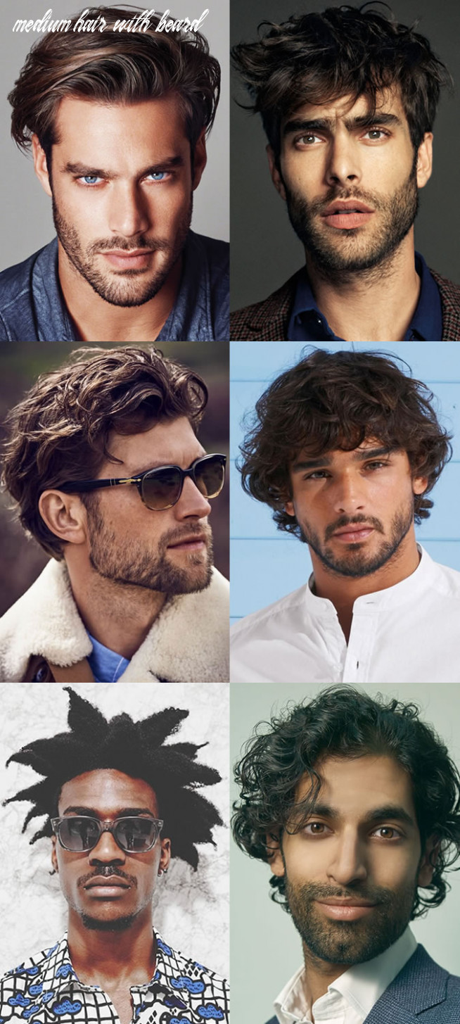 How to match your hairstyle to your facial hair   fashionbeans medium hair with beard