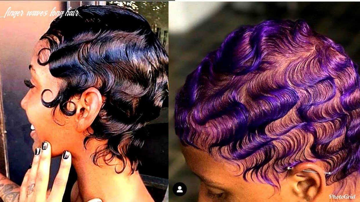 How to slay finger waves on natural hair 8 ?   short & long hair finger waves long hair