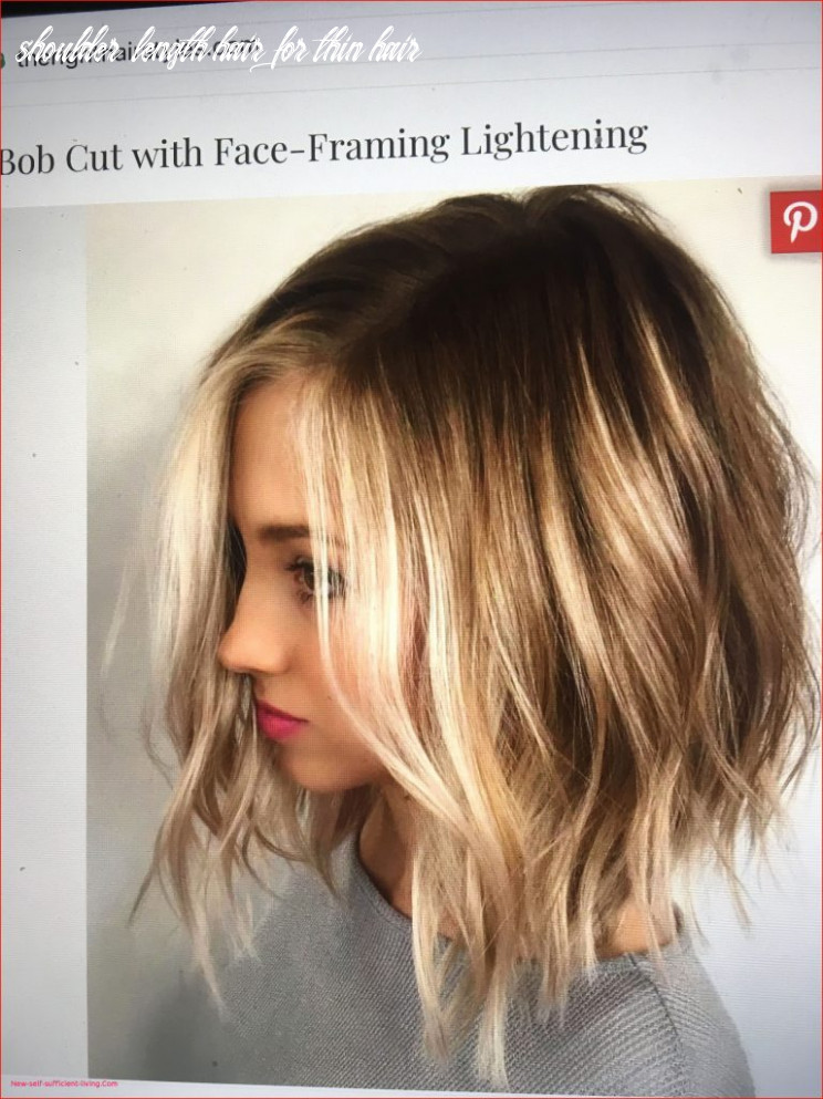 Luxury shoulder length hairstyles for thin hair gallery of braided